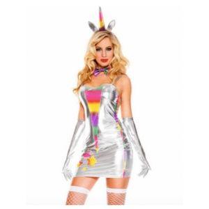 Music Legs Unicorn Fantasy Fun Halloween Costume